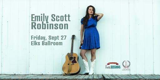 Emily Scott Robinson at the Elks Crystal Hall Ballroom