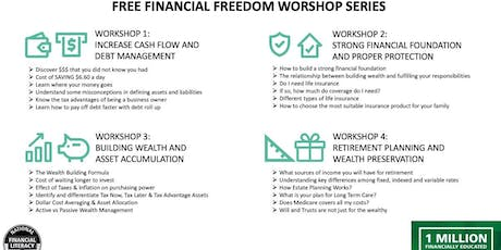 SFPL Financial Freedom WKSP 3: Wealth Building & Asset Accumulation tickets