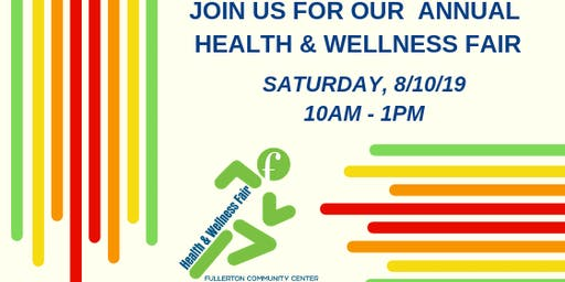 Fullerton Health & Wellness Fair