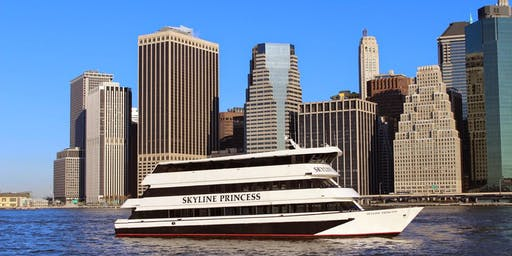 NYC  and Skyline Dinner Buffet Cruise from Queens ** Free Parking **