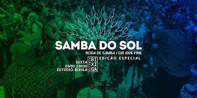 03/05 - SAMBA DO SOL NO ESTÚDIO BIXIGA