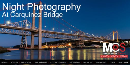 Night Photography at Carquinez Bridge