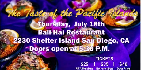 17TH ANNUAL TASTE OF THE PACIFIC ISLANDS tickets
