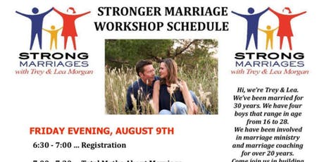 Stronger Marriage Workshop tickets
