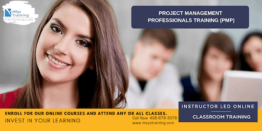 PMP (Project Management) (PMP) Certification Training In Montgomery, NC