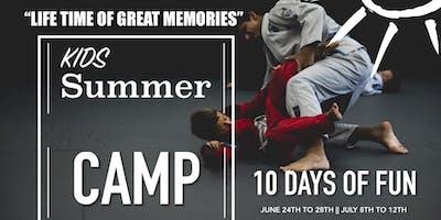 Kid's Summer MARTIAL ARTS CAMP