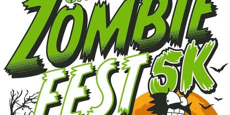 Zombie 5k fun run tickets