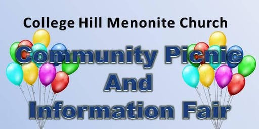College Hill Menonite Church Community Picnic and Information Fair 2019