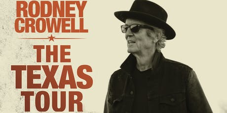 Rodney Crowell - with special guest Kimmie Rhodes tickets
