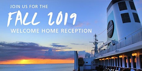 Semester at Sea Fall 2019 Welcome Home Reception  tickets