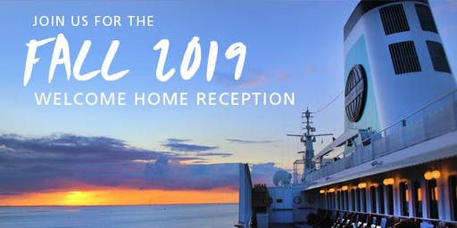 Semester at Sea Fall 2019 Welcome Home Reception