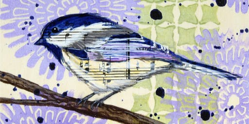 Musical Birds: Mixed Media with Terra Simieritsch
