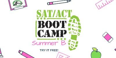 SUMMER B SAT/ACT BOOT CAMP