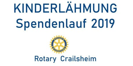 ROTARY Kinderlähmung Spendenlauf 2019 Tickets