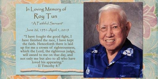 Roy Tun Memorial Service