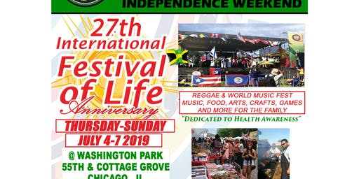 27th African/Caribbean International Festival of Life (IFOL)