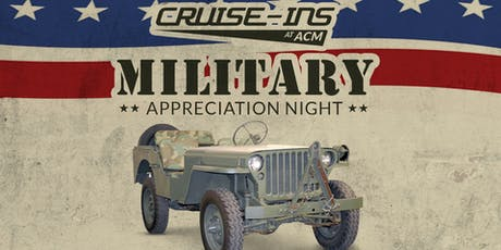 LeMay - America's Car Museum Cruise-Ins:	Military Appreciation Night tickets