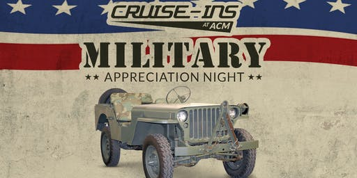LeMay - America's Car Museum Cruise-Ins:    Military Appreciation Night