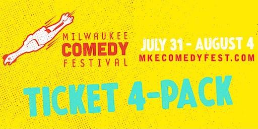 MKE Comedy Fest 4-Pack!
