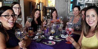 Wine Glass Painting - Dave & Busters 5/23 @ 5pm