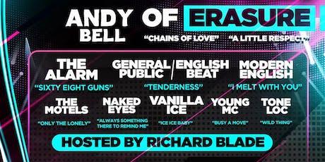 Erasure's Andy Bell, English Beat, Modern English, Alarm, Naked Eyes & More tickets