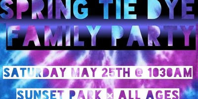 Kids & Family Spring Tie Dye Party