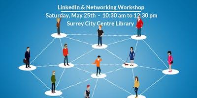 LinkedIn & Networking Workshop (Surrey)