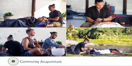 Solstice Special Community Acupuncture & Sound Bath Event Brisbane tickets