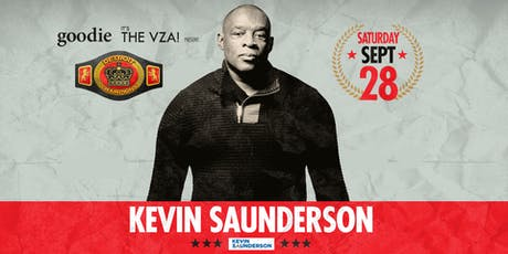 goodie & the vza pres. Detroit Champions: Kevin Saunderson tickets