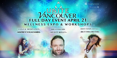 UNITE VANCOUVER ~ SPEEDHEALING, ECSTATIC DANCE, BREATHWORK, YOGA/MEDITATION tickets