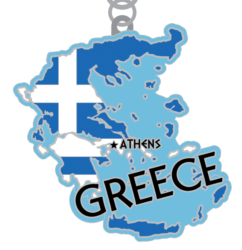 2019 Race Across the Greece 5K, 10K, 13.1, 26.2 -Phoenix