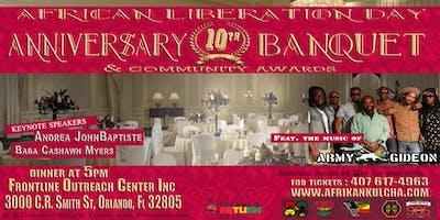 African Liberation Day Banquet 2019-Orlando