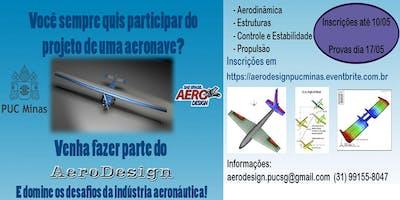 Processo Seletivo AeroDesign - PUC Minas 1º/2019