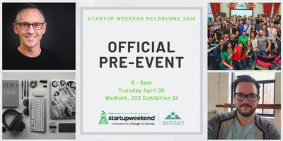 Pre-Event: Startup Weekend Melbourne 2019