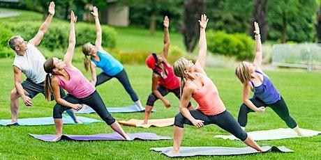OUTDOOR 45 min ADULT/TEEN Yoga Class at Verona Park: FUN, FIT, FLOURISH! tickets