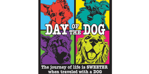 2019 Day of the Dog 1 Mile, 5K, 10K, 13.1, 26.2 -Boston