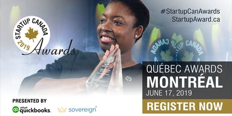 Startup Canada Awards 2019 - Quebec tickets