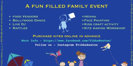 Kite Flying Festival 2019 by Vibha Boston tickets