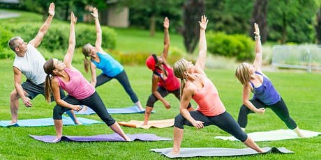 Verona Park YOGA/MEDITATION OUTDOOR 45 min : FUN, FIT, FLOURISH! tickets