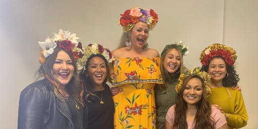 Make Your Own Floral Headdress!