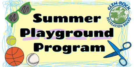 2019 Glen Rock Park Summer Playground Program tickets