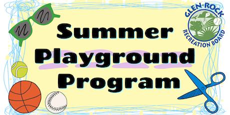 2019 Glen Rock Park Summer Playground Program tickets