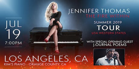 Jennifer Thomas - The Fire Within Tour (Orange County/LA, CA)- Ft. J.ournal Poems tickets