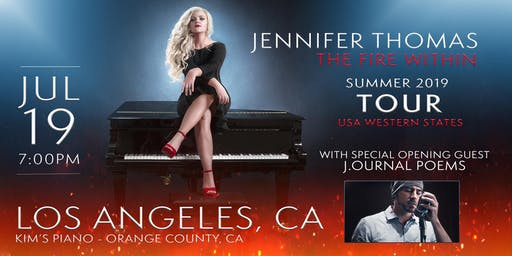 Jennifer Thomas - The Fire Within Tour (Orange County/LA, CA)- Ft. J.ournal Poems