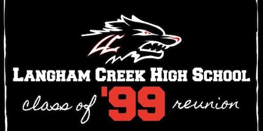 20 Year Langham Creek High School C/O 1999 Reunion