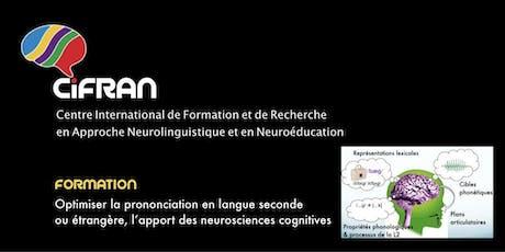 CPH1 - Tokyo - Optimiser la prononciation en langue seconde / étrangère : les Grands Moyens de correction phonétique tickets