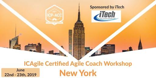 Agile Coach Workshop - ICP-ACC Certified - NYC - June