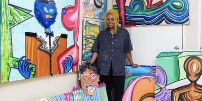 Abstract Painting Lessons with Joi Cole