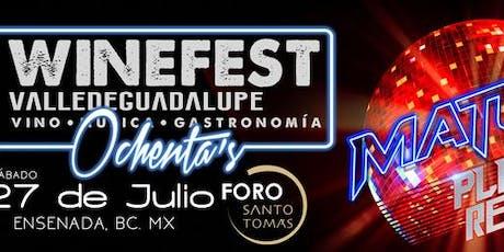 Transporte al  Wine Fest en Valle de Guadalupe  tickets
