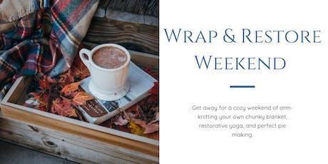 Wrap & Restore Weekend Retreat tickets